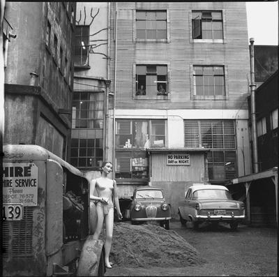 A Hamilton alleyway