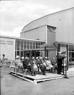 Founders Theatre official opening