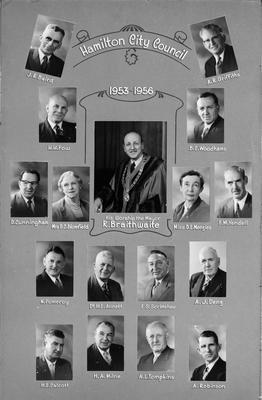 Hamilton City Council 1953-56