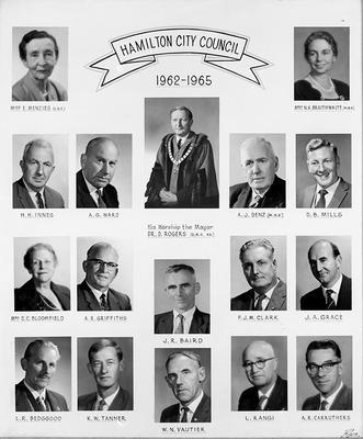 Hamilton City Council 1962-65