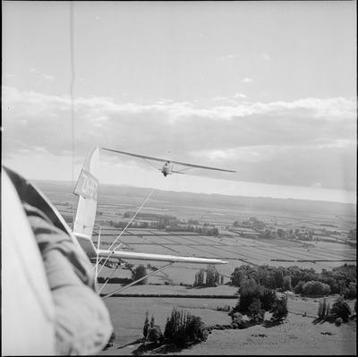A glider plane