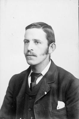 J R Fow as a young man