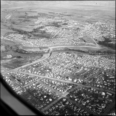 Aerial view of southwest Hamilton