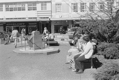 Sundial in Garden Place 1979