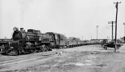 Goods train at Frankton