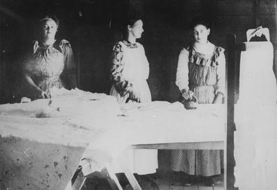Ironing room at the Waikato Hospital