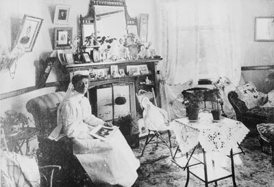 Matron Rothwell's sitting room