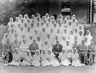 Staff at the Waikato Hospital