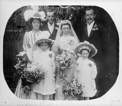 Wedding portrait of Dr. and Mrs H. Douglas