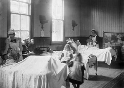 Children's Ward at the Waikato Hospital
