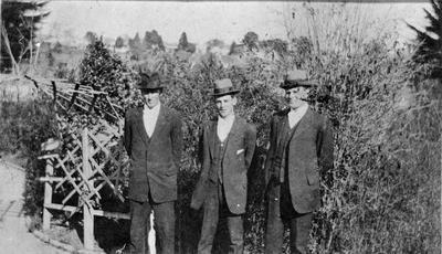 Les Logan, Arthur Fow and Willie Dimond