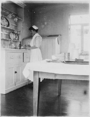 Kitchen at Waikato Hospital