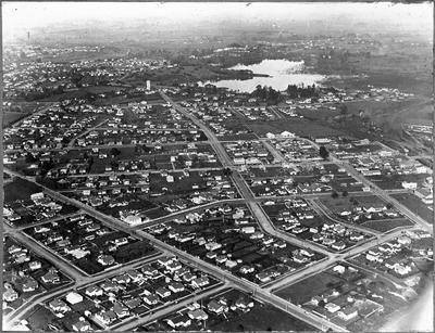 Aerial view of Frankton