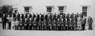 Hamilton Police force group photo