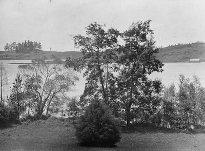 Northerly view from Lake House at Hamilton Lake