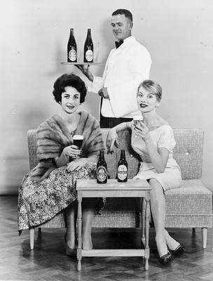 Promotion for Rheineck and Heidelberg beers