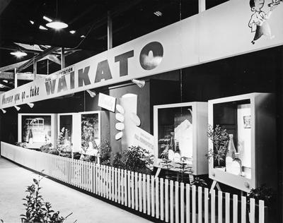 A Waikato Breweries Waikato Winter Show display