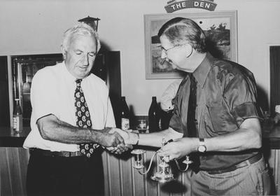 Harold Innes' retirement