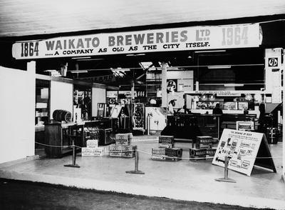 Waikato Breweries Winter Show display