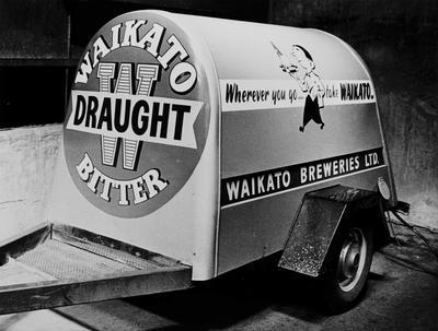 Waikato Breweries tanker trailer