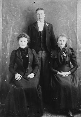 Henrietta Abbott and friends