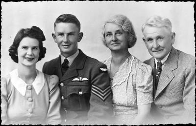 J F Louden and family