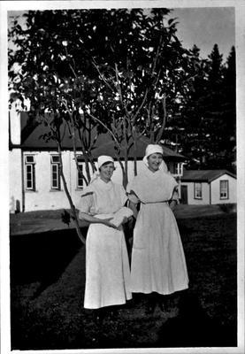 Nurses at Waikato Hospital 1922