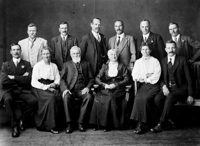 Samuel Steele and family