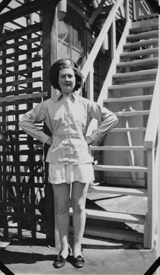 A member of the Women's Auxiliary Air Force (WAAF)