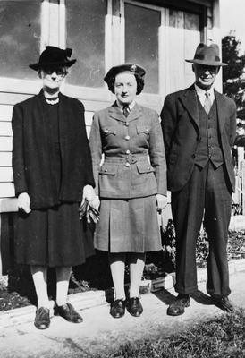 Raby Earl and parents