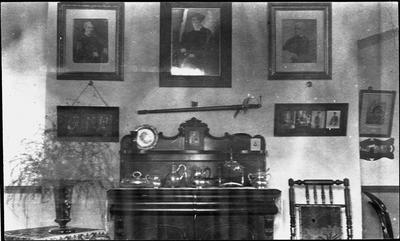 The dining room at The Lodge in Victoria Street, Hamilton.