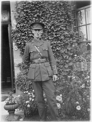 Portrait photo of C.K.O. Graham in World War I uniform