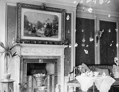 Interior of a Lodge, possibly in Victoria Street, Hamilton