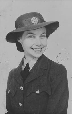 Venna in WAAF uniform