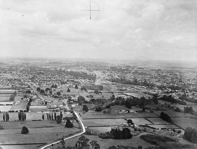 Aerial view of Hamilton: Bankwood and Fairfield