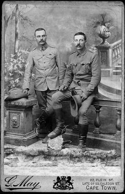 Boer War soldiers