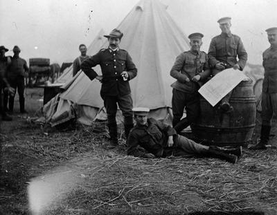 Boer War troops