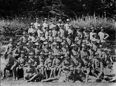 Boer War troops