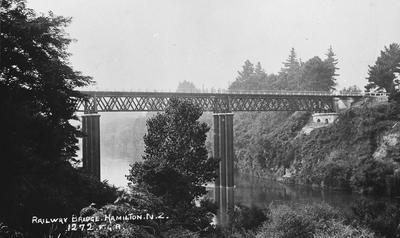Railway Bridge at Claudelands