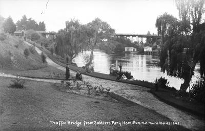 Traffic Bridge from Soldiers Park