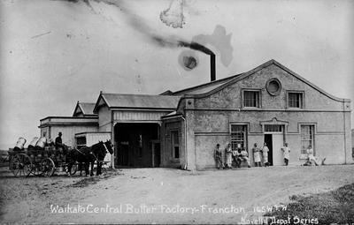 Waikato Central Butter Factory, Frankton
