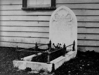 Reverend C S Volkner's grave, Opotiki