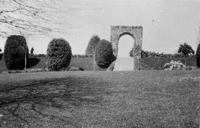 Park entrance - Hamilton