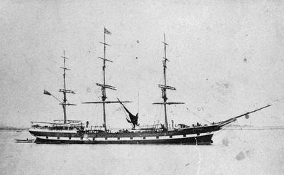 "Sailing ship ""Waikato"""