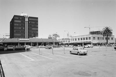 McDonalds, PM Plaza, Westpac, Claudelands Road, Victoria Street
