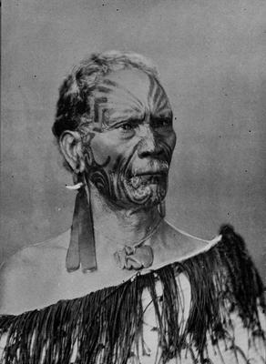 Tangata, Maori Chief