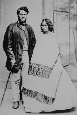 Honatawa and wife