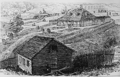 Sketch - Old Mission Station , Kawhia