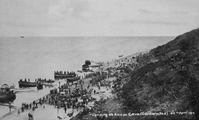 Landing at Anzac Cove, Dardanelles