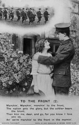 World War 1 postcard